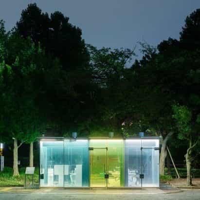 Esta semana, los arquitectos diseñaron baños públicos innovadores para Tokio