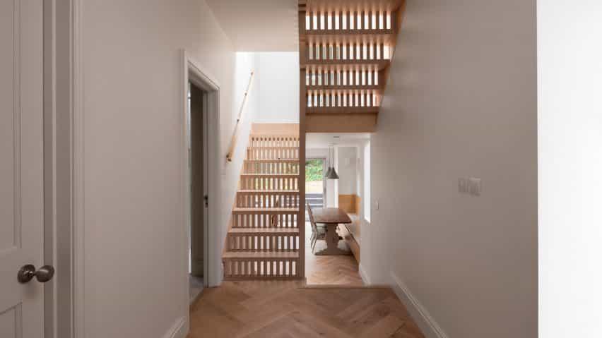 Paso Casa extensión en Londres por Grey Griffiths Arquitectos