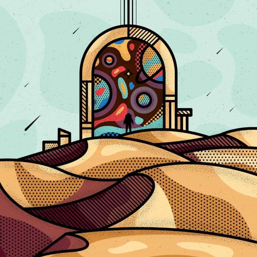 Inspiración de ilustración - Mike Karolos