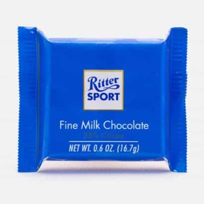 Ritter Sport gana derecho exclusivo de barras de chocolate cuadrados más de Milka