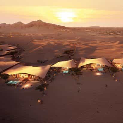 Esta semana Foster + Partners reveló un par de hoteles en Arabia Saudita