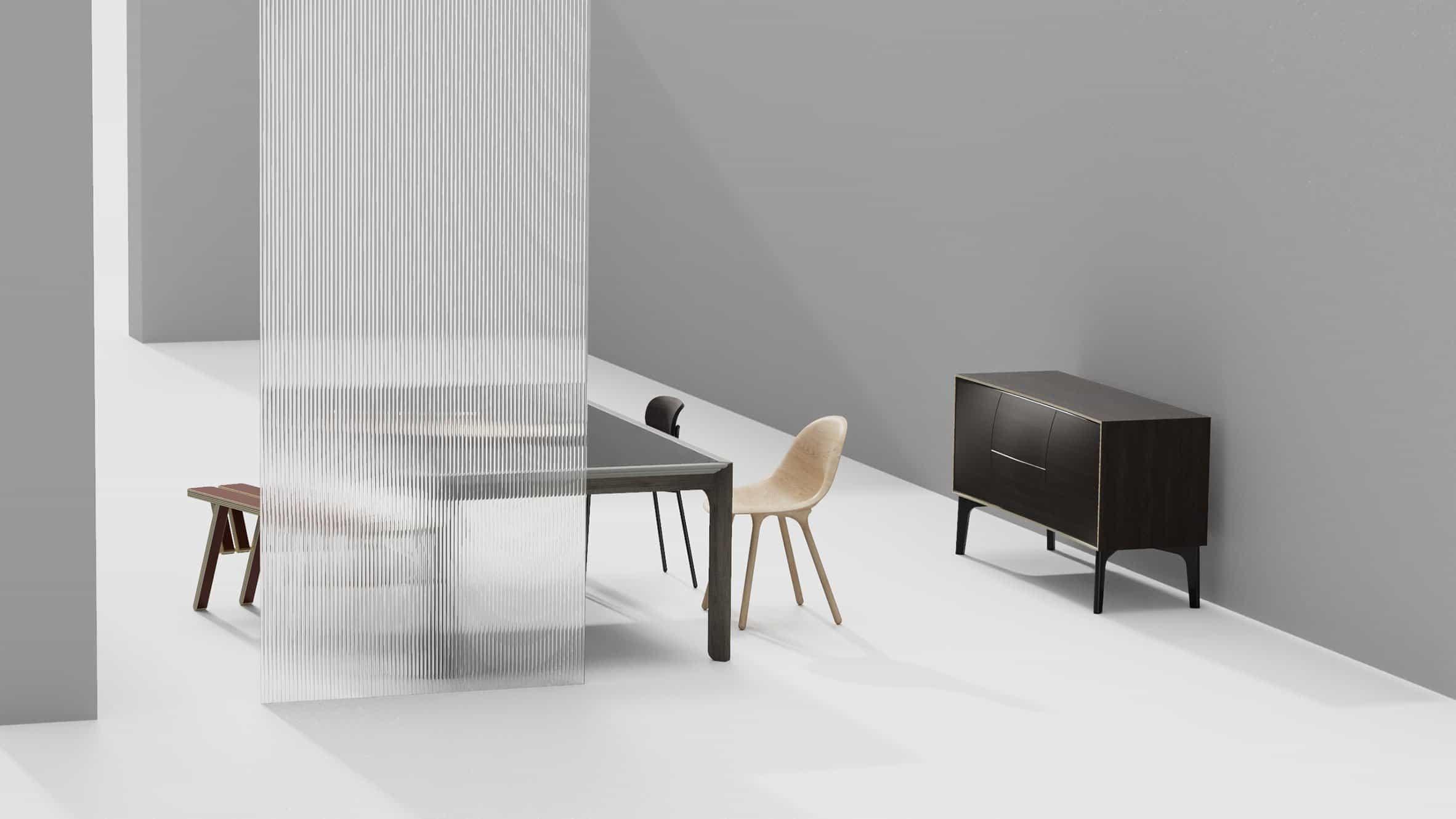 Muebles de XUE diseñados por Chen Min