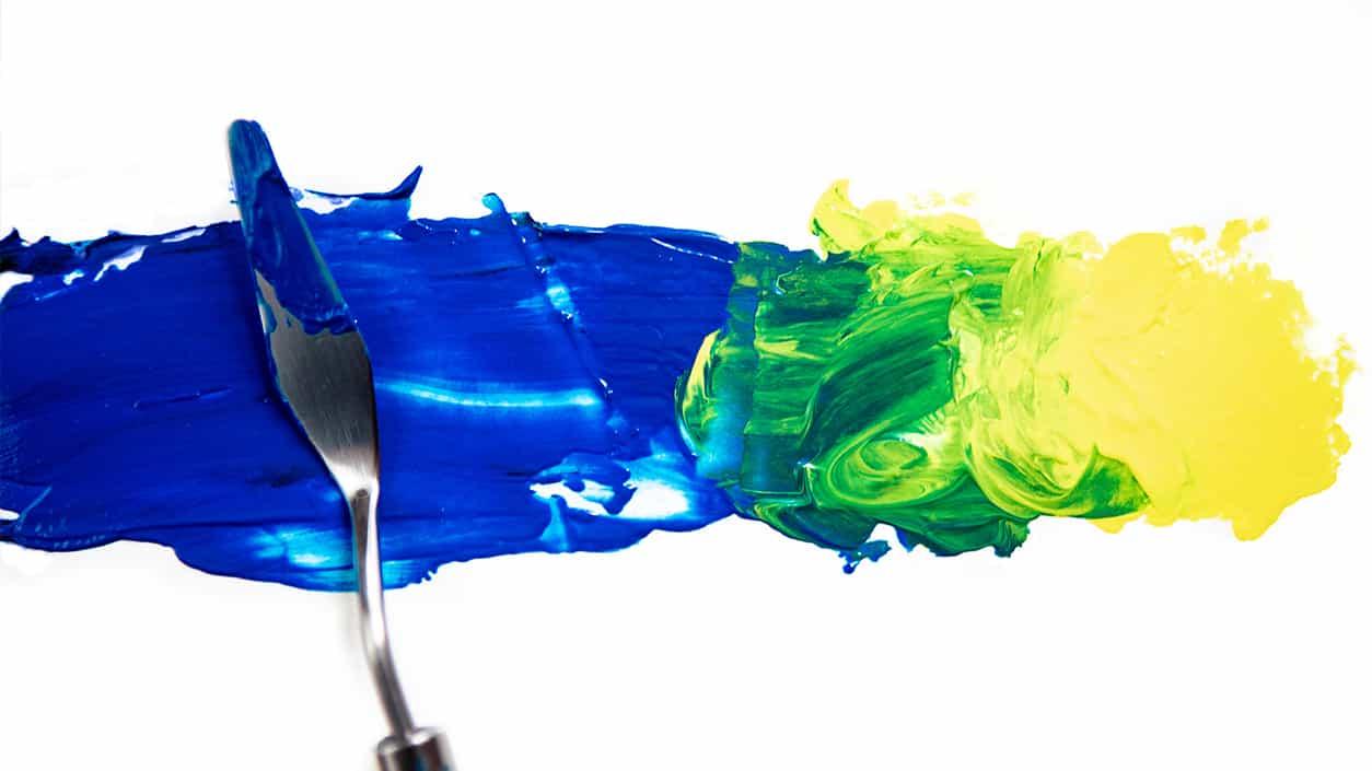 Hipnotizante vídeos de mezcla de pintura proporcionan algo de calma muy necesaria