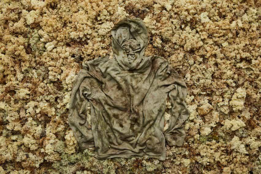 Sudadera con capucha de la planta y de la granada que puede compost en su jardín por Vollebak