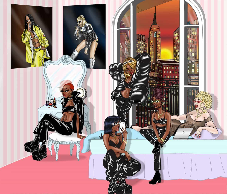 Terrell Villiers sobre la creación de un espacio para los cuerpos negros y queer dentro de los dibujos animados
