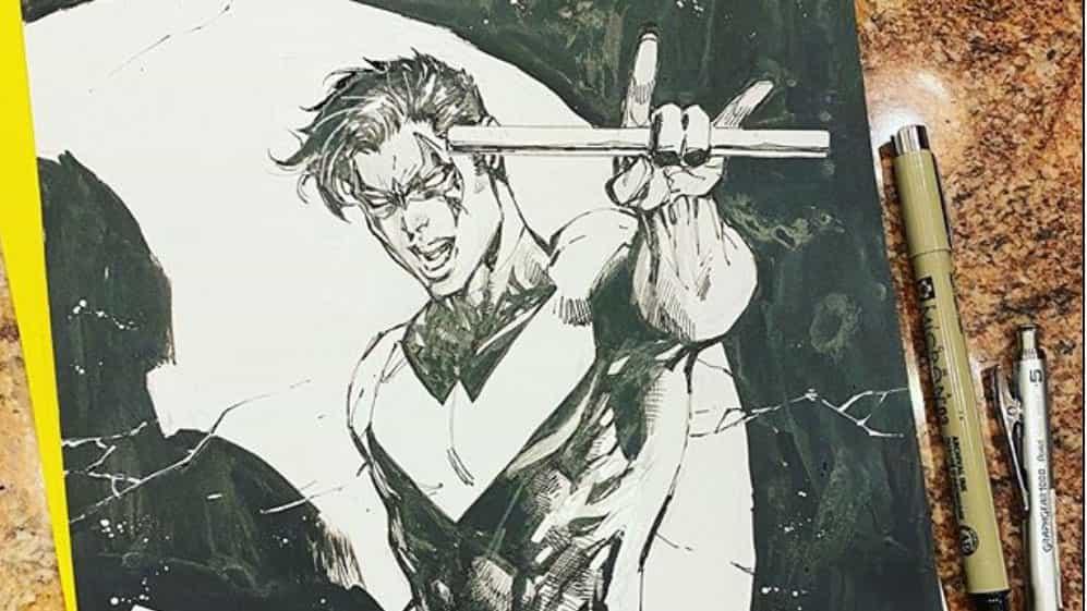 leyenda DC Comics está subastando su trabajo de caridad.