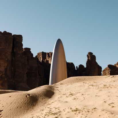Desierto X instala 14 obras específicas de sitio en Arabia desierto de Arabia