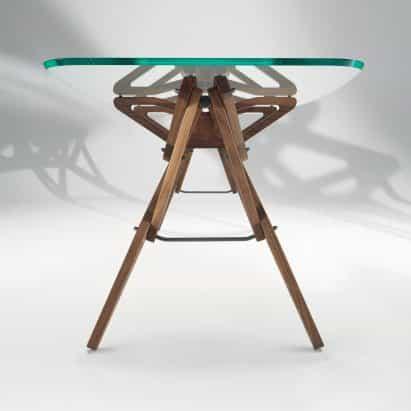 Reale mesa de Carlo Mollino para Zanotta