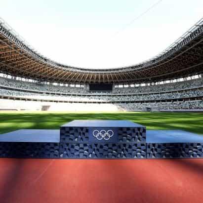Asao Tokolo imprime en 3D los podios de Tokio 2020 a partir de desechos plásticos donados