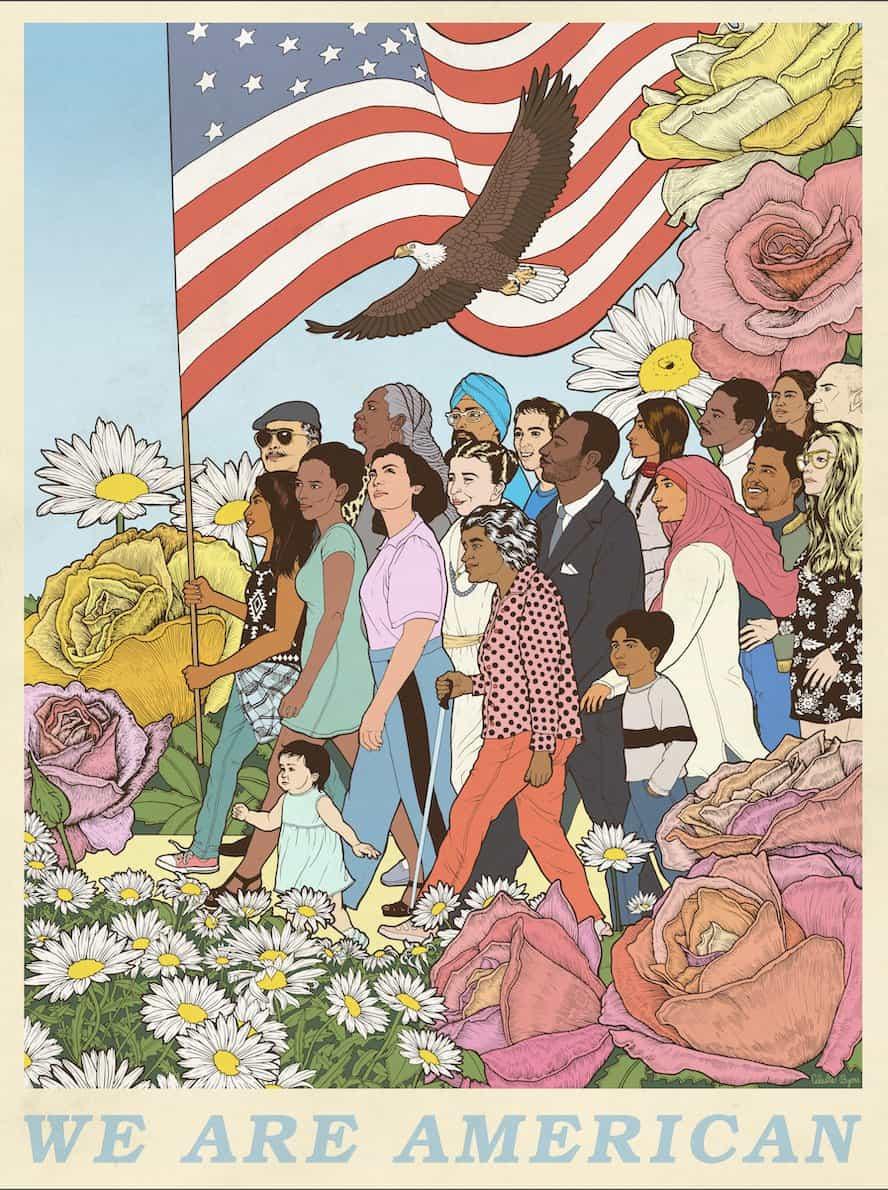 Votar su futuro: Póster por nueve ilustradores emergentes aparecen en la campaña de Nueva York en todo