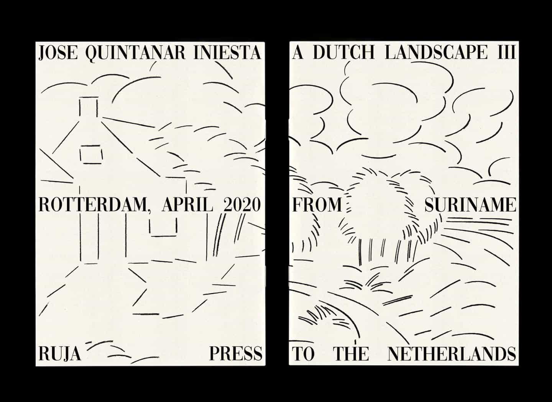José Quintanar cuestiona la forma de un libro en una exploración de paisajes holandeses