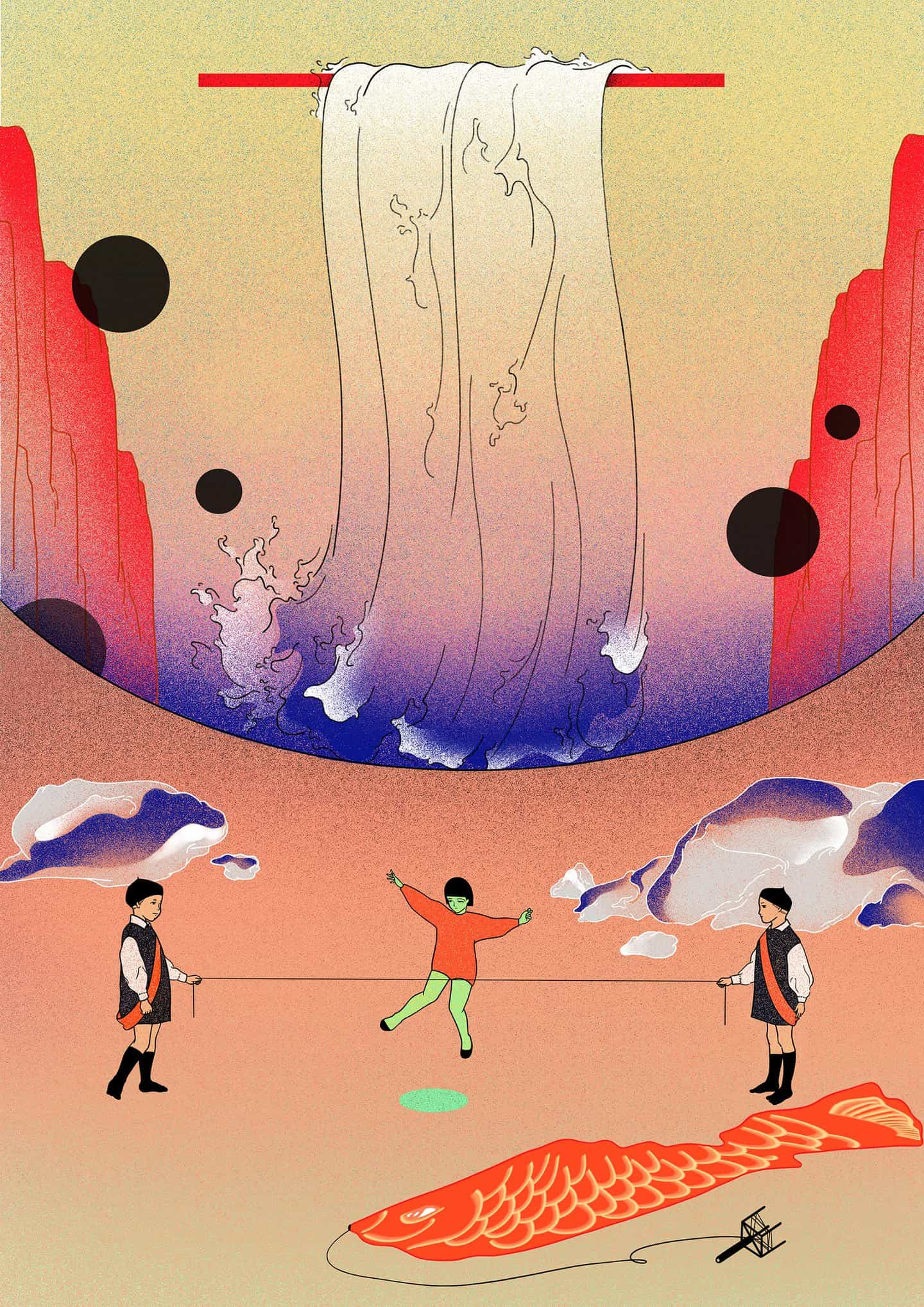 Deambular por el mundo extraño y hermoso del ilustrador Dura Lee