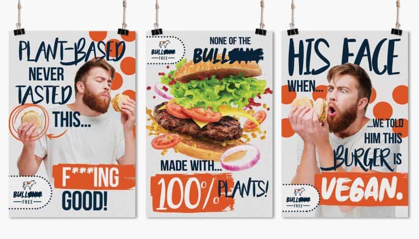 Toros ** t hamburguesa libre por Becky Ward,