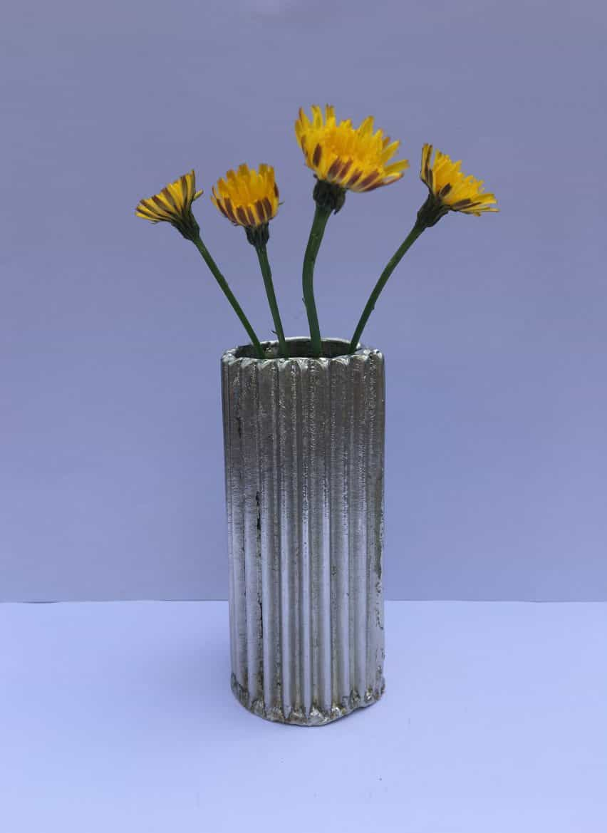 Cartón Vase por Cathy Wolter