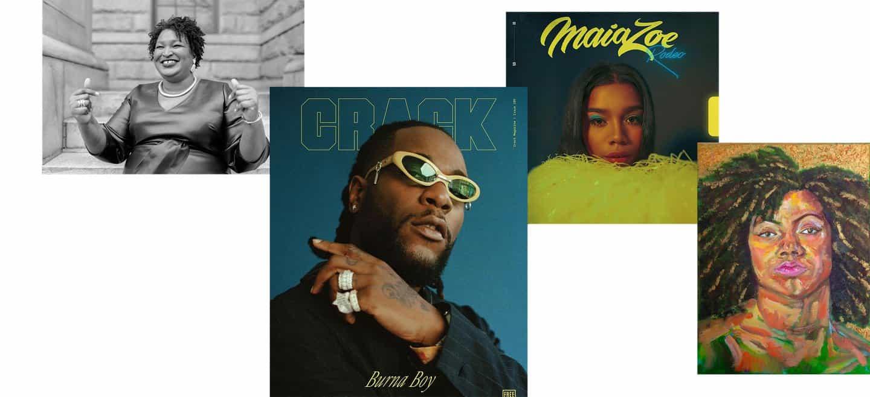 1. Stacey Abrams2. Ronami Ogulu (para la revista crack) 3. Flo Ngala4. Dyymond batidora-Young