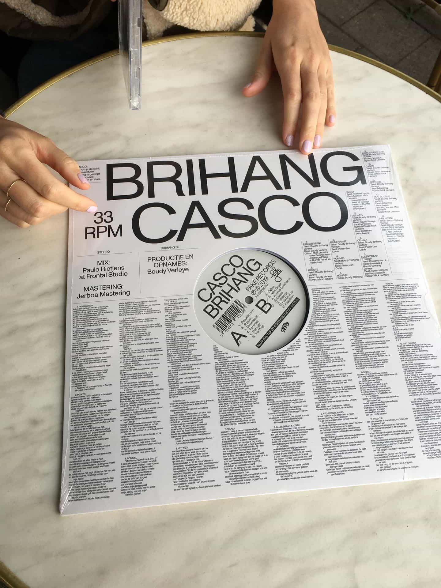Ine Meganck: Casco Brihang