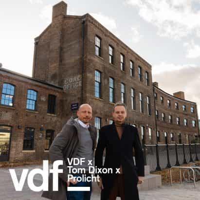 entrevista en vivo con Tom Dixon y Prolicht como parte del Festival de Diseño Virtual