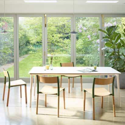 Allermuir diseña paquete plano muebles de comedor popular