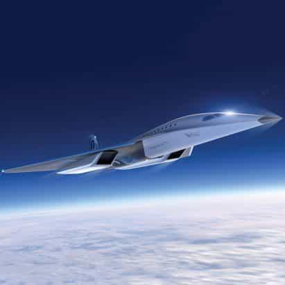 """El avión Mach 3 de alta velocidad de Virgin Galactic marcará el comienzo de """"una nueva frontera en viajes de alta velocidad"""""""