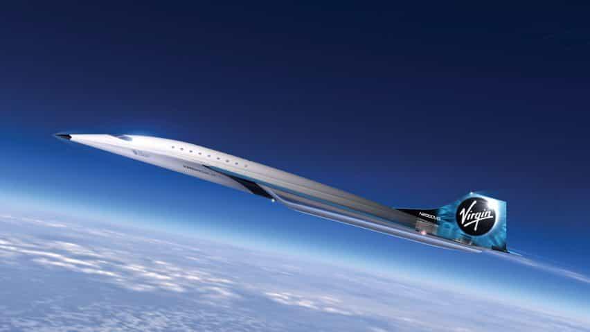 Virgin Galactic revela el diseño de un avión Mach 3 de alta velocidad