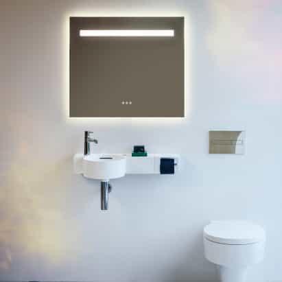 colección de baño Val por Konstantin Grcic para Laufen
