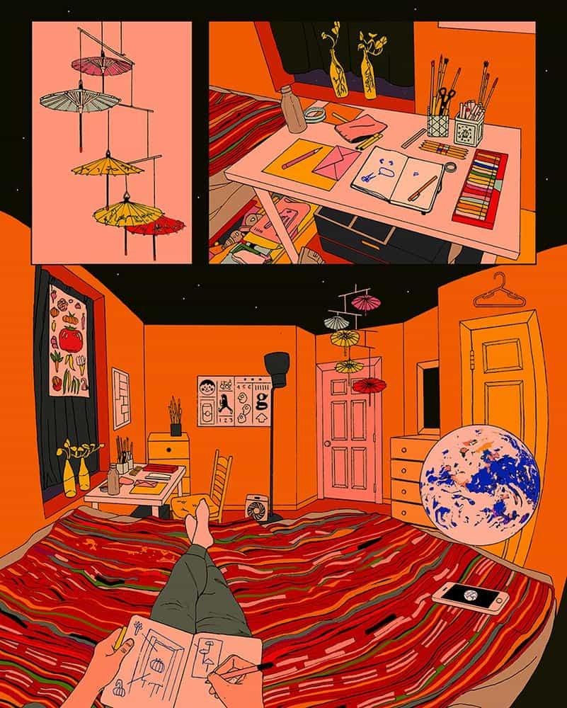 Toma Vagner sobre procesos analógicos, bolígrafos e ilustraciones para Harry Styles