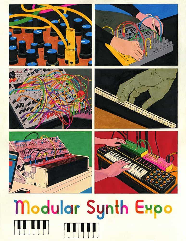 Toma Vagner: Modular Synth Expo (Copyright © Toma Vagner, 2020)