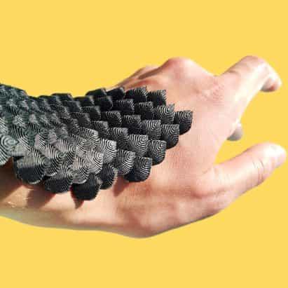 Escala es un yeso en el cuerpo flexible que pudiera proteger a los atletas de lesiones