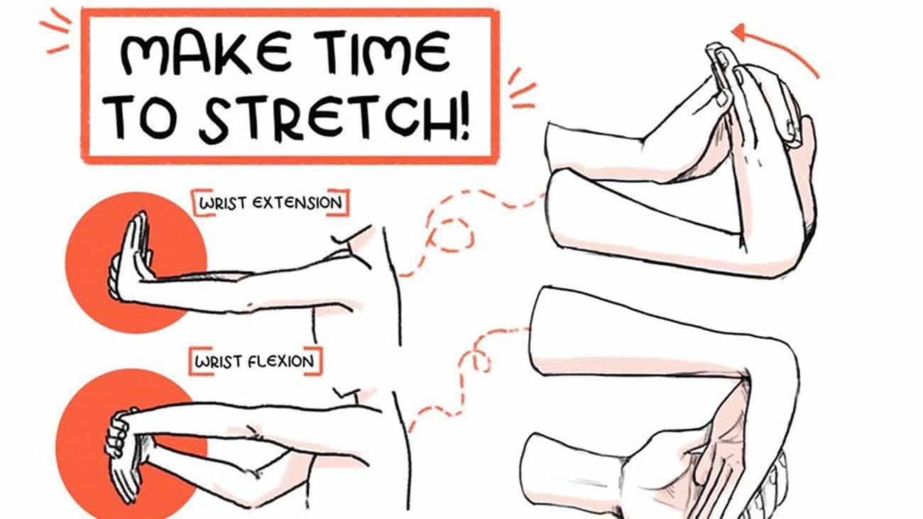 Mantenga sus manos saludable con estos ejercicios sencillos.