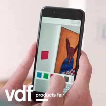 Jung herramienta de planificación de realidad aumentada introduce en VDF productos justo
