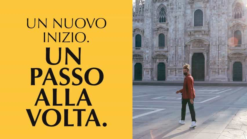 YesMilano campaña de lanzamientos como Milán llama para creativos para responder a coronavirus