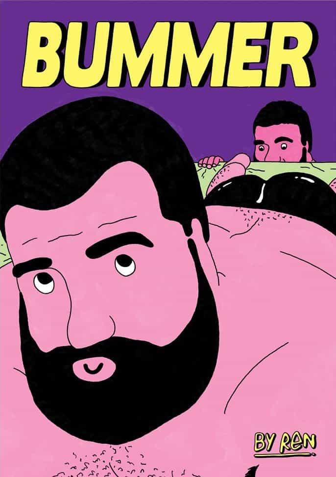 """""""Eres lo suficientemente hombre?"""" Jack Reynolds, conocido como Ren, plantea esta pregunta fácil identificarse en su nueva revista, Bummer"""