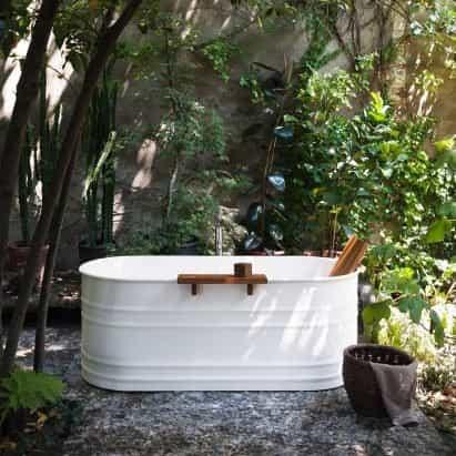 Colección de baño Vieques Outdoor de Patricia Urquiola para Agape