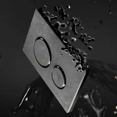 Geberit libera placas actuador Sigma con nuevos acabados
