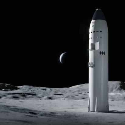 SpaceX gana contrato con la NASA para diseñar lander lunar