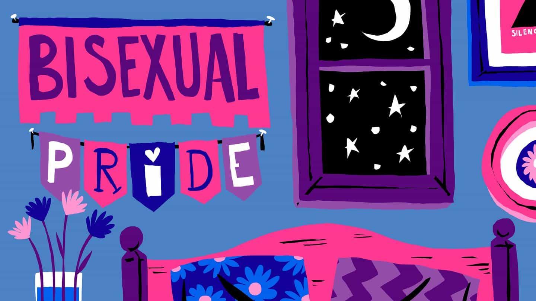 Antecedentes bisexual del orgullo
