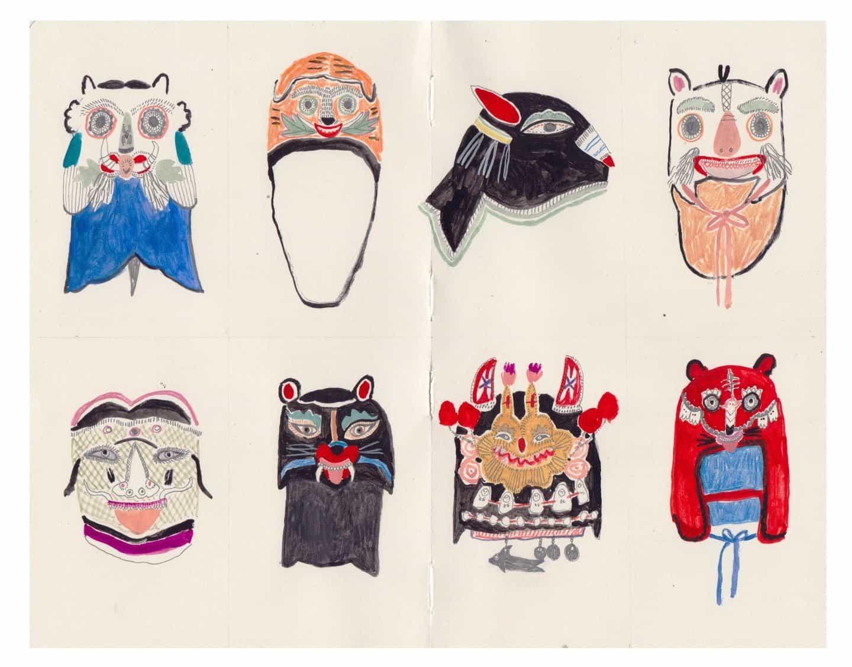 frágiles obras de Molly Martin utilizan los pequeños detalles y el espacio negativo