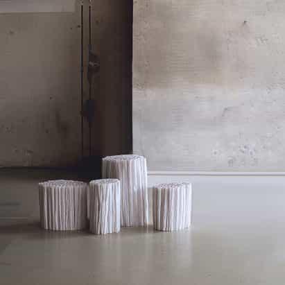 Pao Hui Kao hace colección de muebles de papel de calcar
