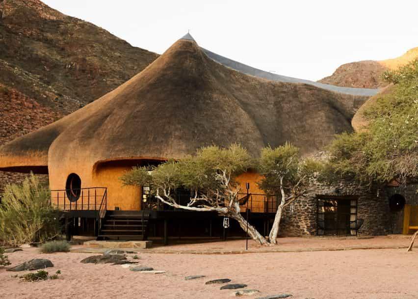 El Nido en Sossus casa de huéspedes en Namibia diseñado por Porky Jefer