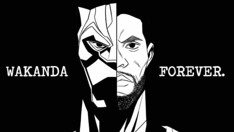 Creativos rinden homenaje a Chadwick Boseman con impresionantes obras de arte