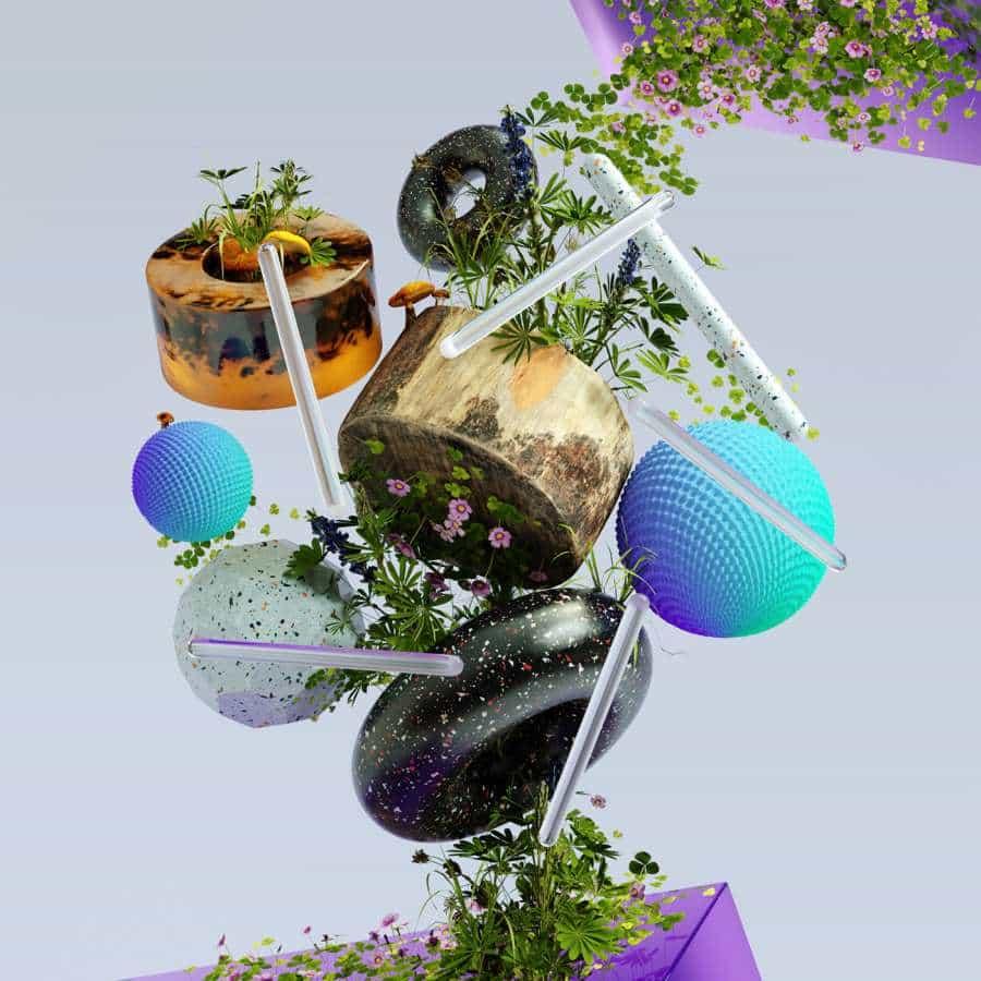 Sublimes 3D Ilustraciones de Cris Labno