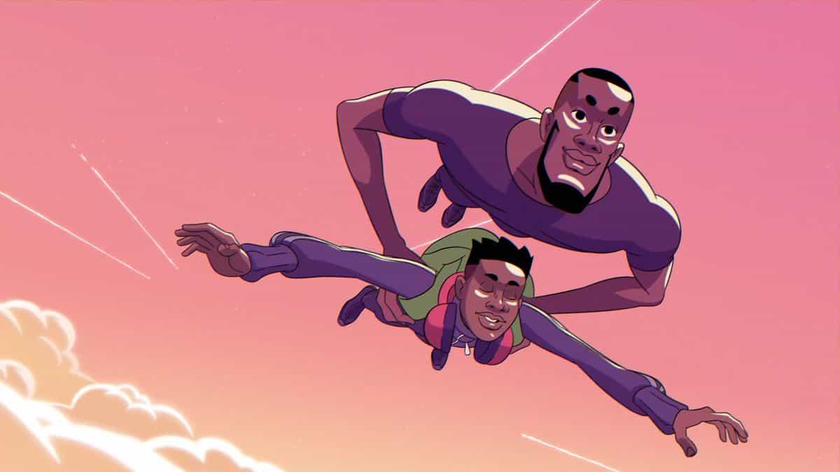 La animación está dedicado a Chadwick Boseman.