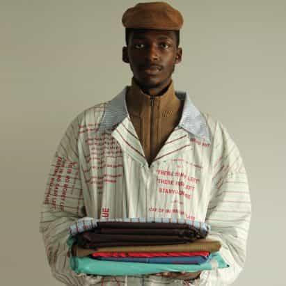 Diez moda y textil diseños de la Universidad del Este de Londres se gradúa
