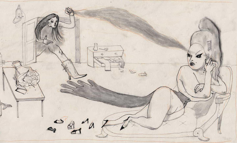Wenwen Zhu sobre las partes poéticas y meditativas de la ilustración