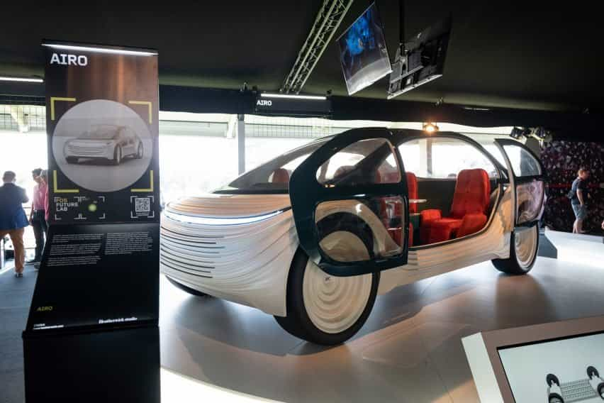 Prototipo de coche eléctrico de Heatherwick Studio