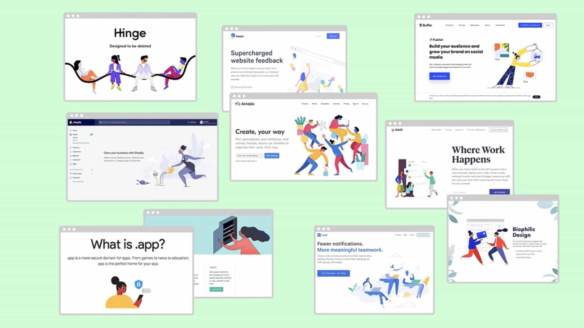 ¿Puede detectar la diferencia entre estos diseños de sitios web?