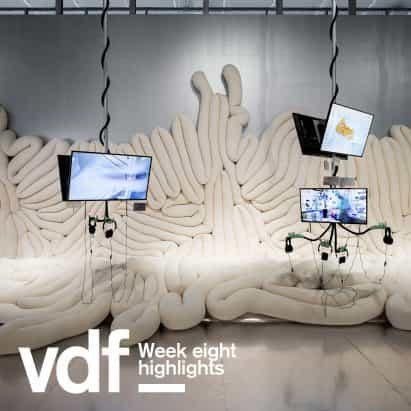 VDF destacados de esta semana incluyen Ilse Crawford, Farshid Moussavi y exposiciones virtuales por ArkDes y Alcova