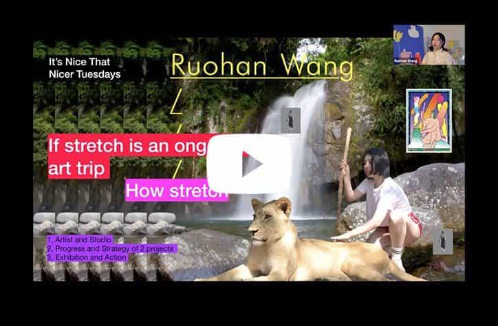 """Ruohan Wang nos habla a través de varios proyectos que incorporan el tema de """"estiramiento"""""""