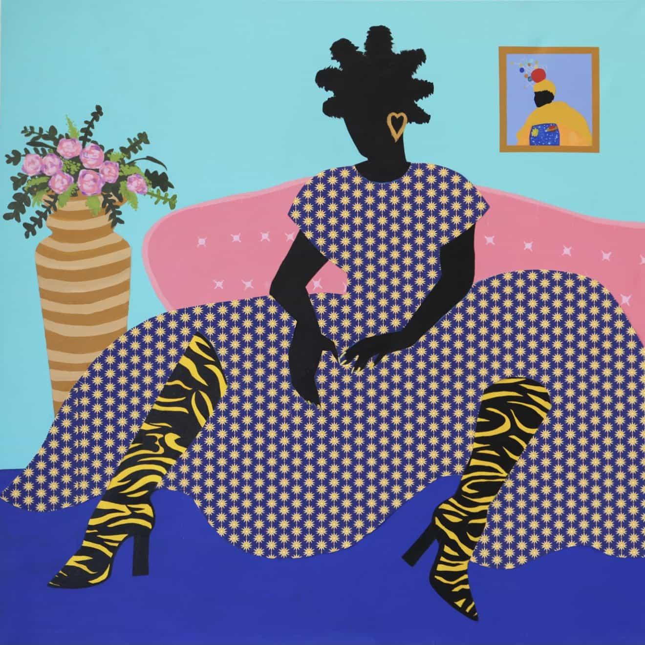 Jamilla Okubo es un artista interdisciplinario que explora la experiencia humana, la historia y la identidad