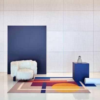 Colección de alfombras Zoe por Daria Zinovatnaya para Gan